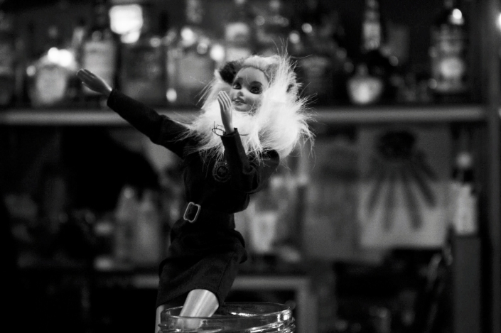 sly grog punk barbie