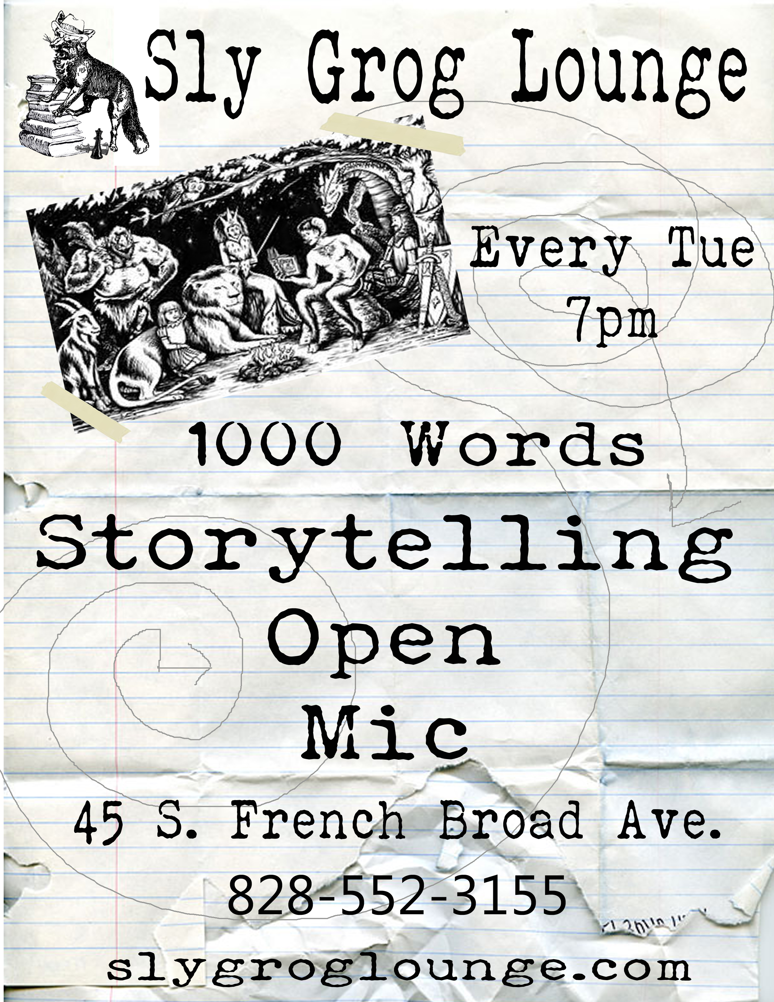 Story teller open mic copy
